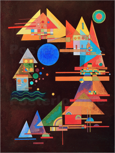 Wassily Kandinsky - Peaks in the bow