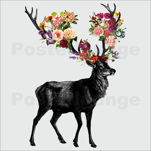 Tobe Fonseca - Spring Itself Deer Floral