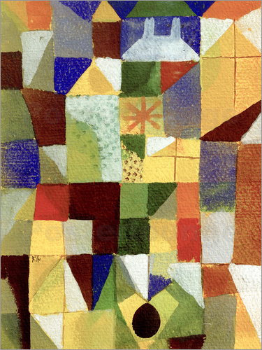 Paul Klee - Urban Composition