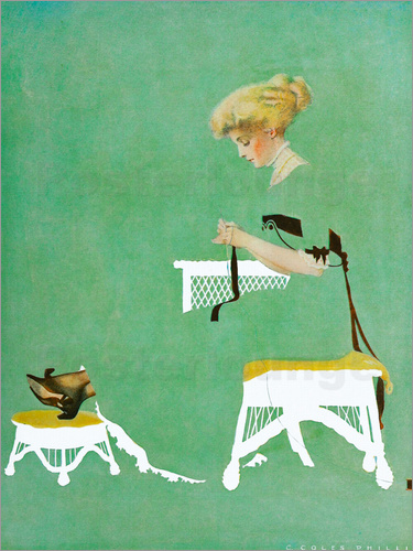 Clarence Coles Phillips - Home ties