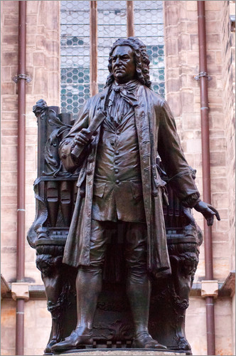 Michael Snell - Statue of Bach, Leipzig