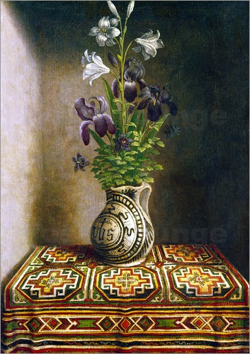 Poster Still life with flowers