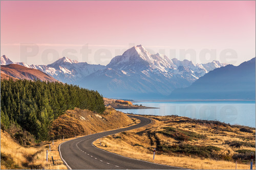 Matteo Colombo - Road to Aoraki, New Zealand