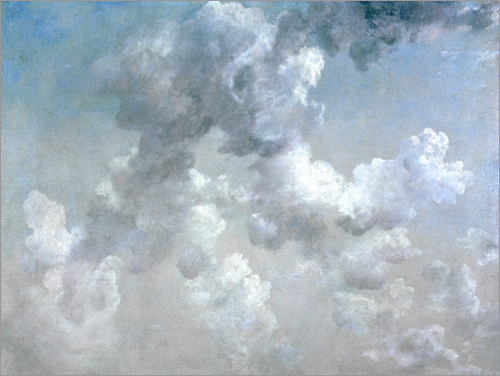 John Constable - Study of Clouds