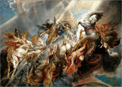 Peter Paul Rubens - Fall of Phaeton