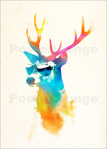 Poster Sunny Stag