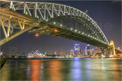 Poster Sydney Harbour Bridge I