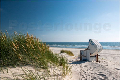 Reiner Würz RWFotoArt - Beach with dunes and beach grass