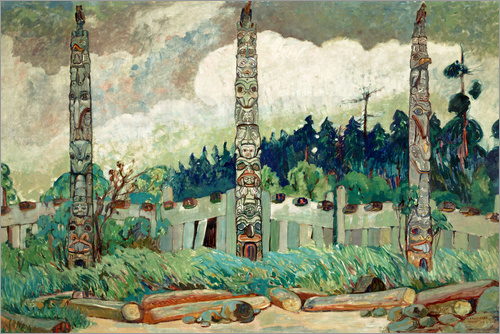 Emily Carr - Tanoo, Queen Charlotte Island