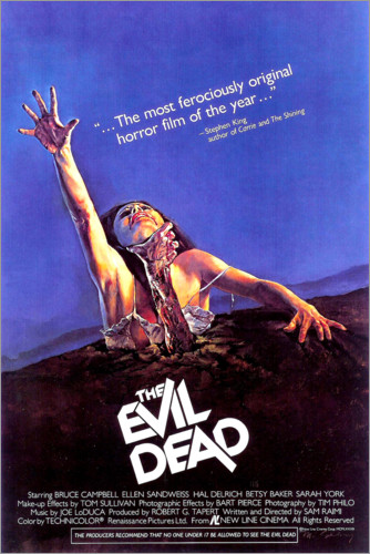 Poster THE EVIL DEAD