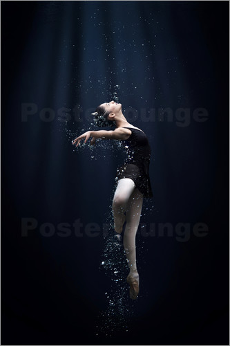 Poster Dance In The Water