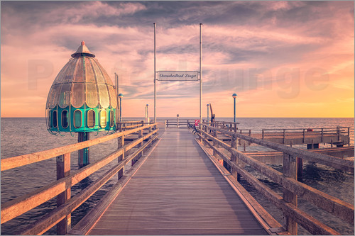 Dirk Wiemer - Diving bell at pier Zingst (Darss/Baltic Sea)