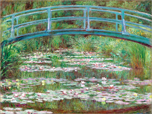 Poster Waterlily Pond