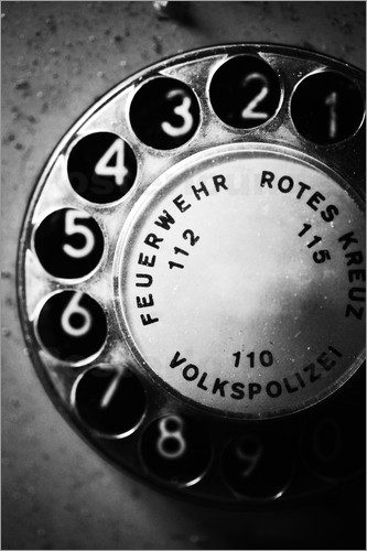 Poster Telephone dial