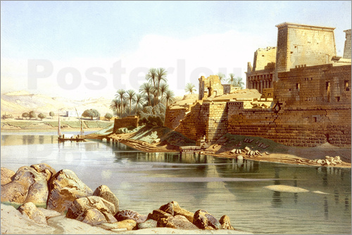 Poster Temple of Isis at Philae