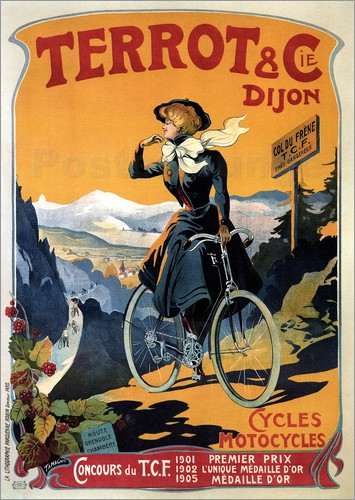 Terrot & Cie Dijon bicycles and motorcycles