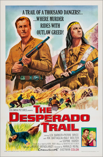 Poster THE DESPERADO TRAIL