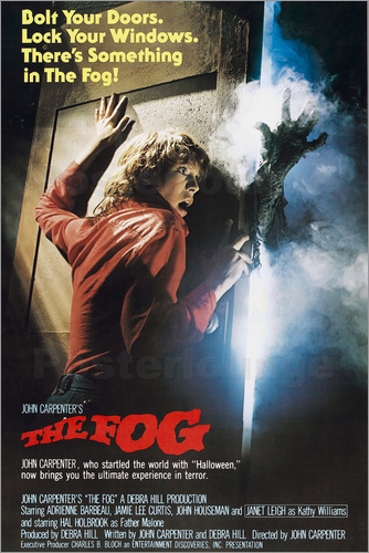 Poster THE FOG, Jamie Lee Curtis, 1980