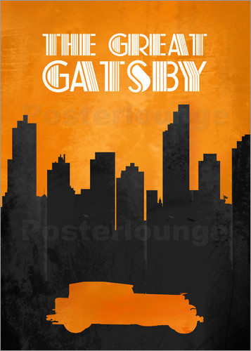 Poster The Great Gatsby - Minimal Movie Film Fanart Alternative