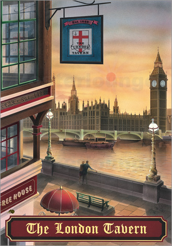 Peter Green's Pub Signs Collection - The London Tavern
