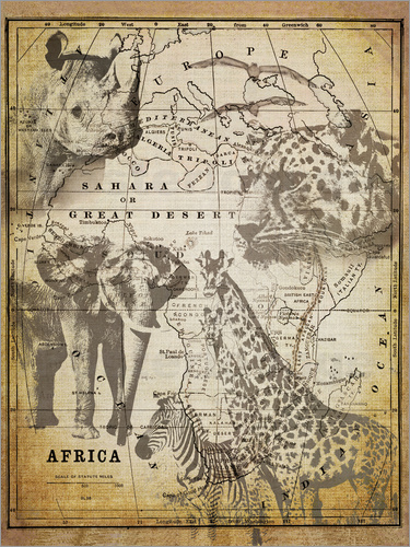 Poster The Spirit of Africa