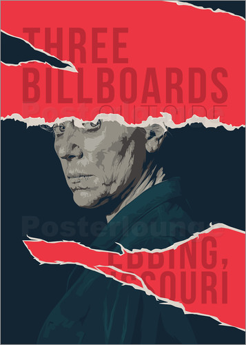 Poster three billboards outside ebbing missouri