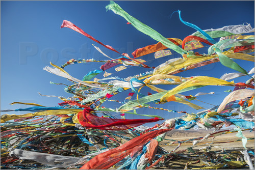 Sergey Orlov - Tibetan prayer flags in the wind