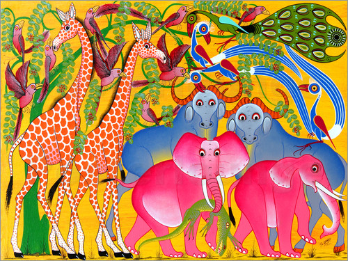 Omary - Groups of animals in the bush