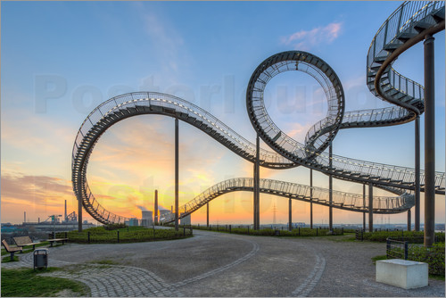 Poster Tiger and Turtle Duisburg