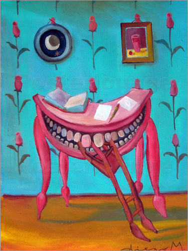 Diego Manuel Rodriguez - Table eats chair