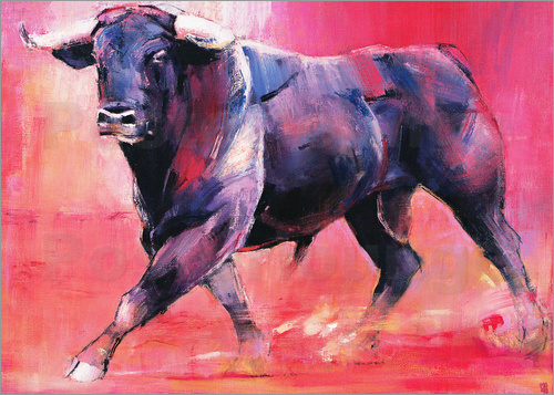 Mark Adlington - Trotting bull