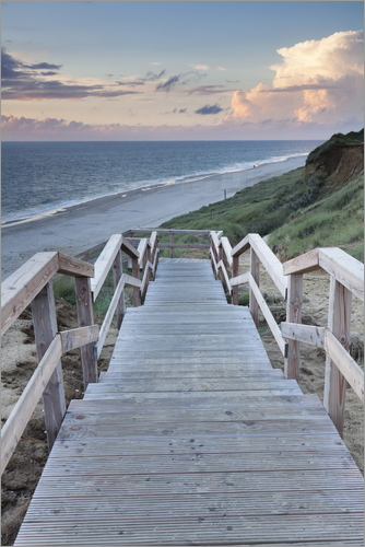 Markus Lange - Stairs down to the beach, Sylt