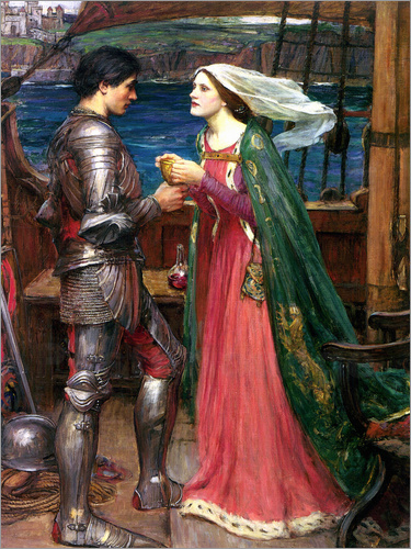 John William Waterhouse - Tristan and Isolde