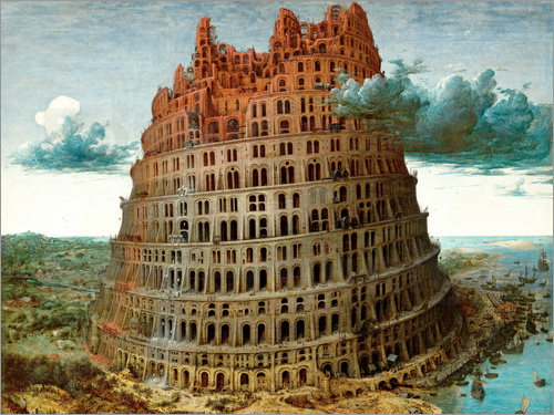 Pieter Brueghel d.Ä. - The Tower of Babel