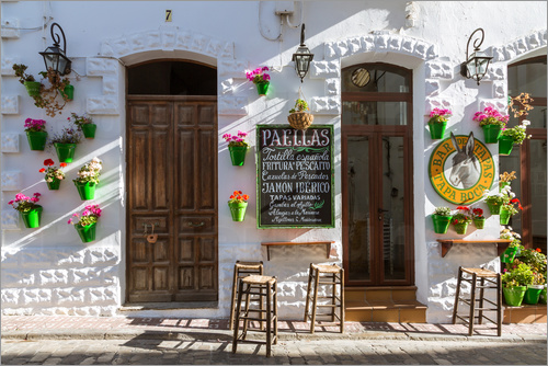 Matteo Colombo - Typical street cafe in Andalusia, Spain