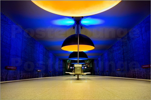 Westfriedhof subway station, Munich