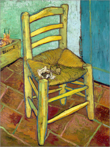 Poster Van Gogh's Chair