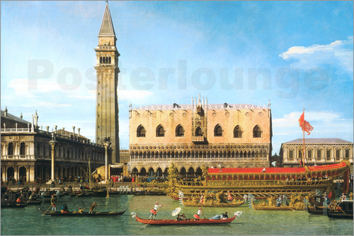 Antonio Canaletto - The Betrothal of the Venetian Doge to the Adriatic Sea