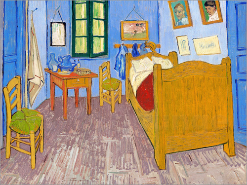 Poster Vincent's Bedroom in Arles