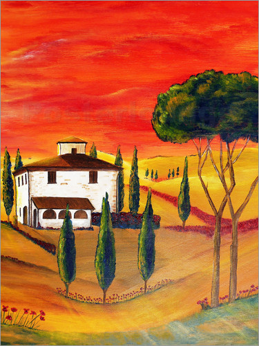 Christine Huwer - Warmth of Tuscany