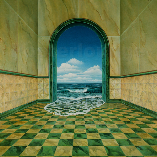 Dieter Ziegenfeuter - Water in a room