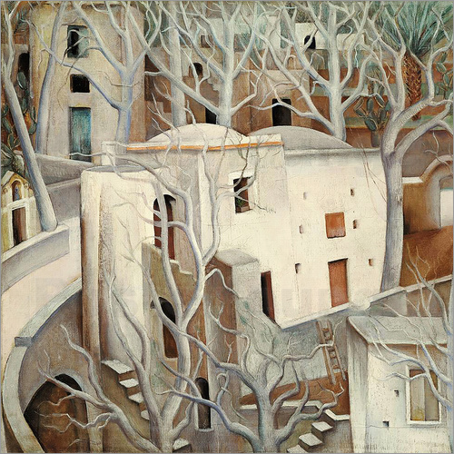 Anita Ree - White trees