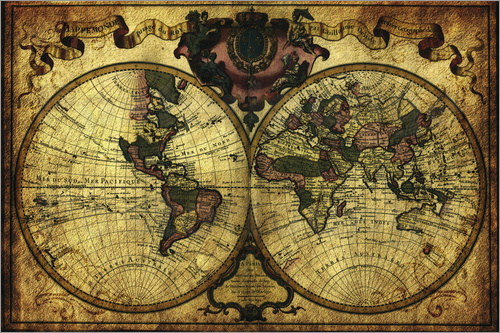Michael artefacti - World 1720