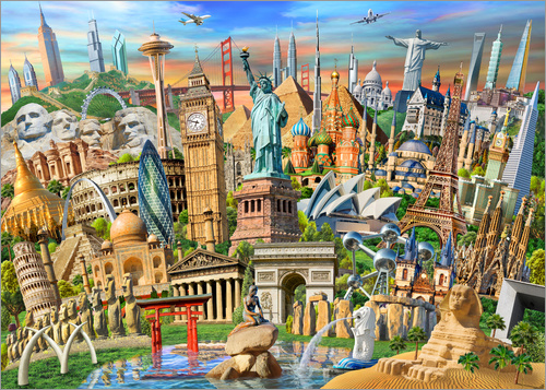 Adrian Chesterman - World Landmarks Collection