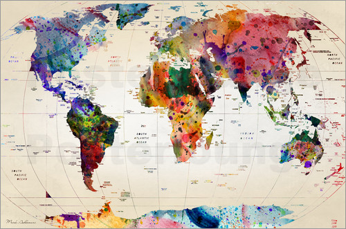 Mark Ashkenazi - Map of the world