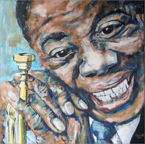 Poster What a Wonderful World, Louis Armstrong