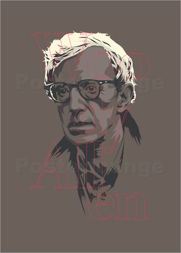 Poster Woody Allen - tribute
