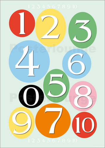 Poster Numbers 1-10