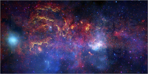 Stocktrek Images - central region of the Milky Way galaxy