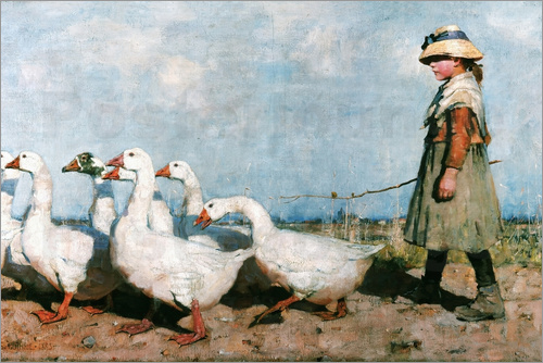 Sir James Guthrie - To Pastures New